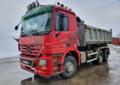 Mercedes Benz ACTROS 2244, 6x4, Bordmatic